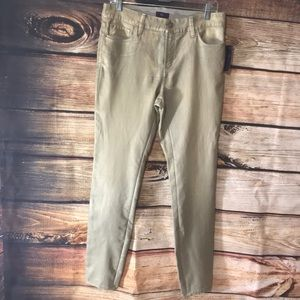NYJD  rust Gold jeans. Size 10